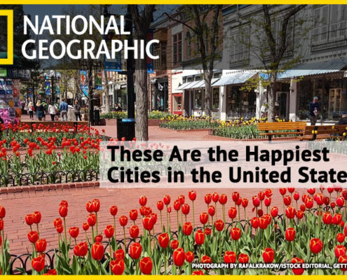 National Geographic Happiest Cities in the US